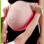 Taping in der Hochschwangerschaft